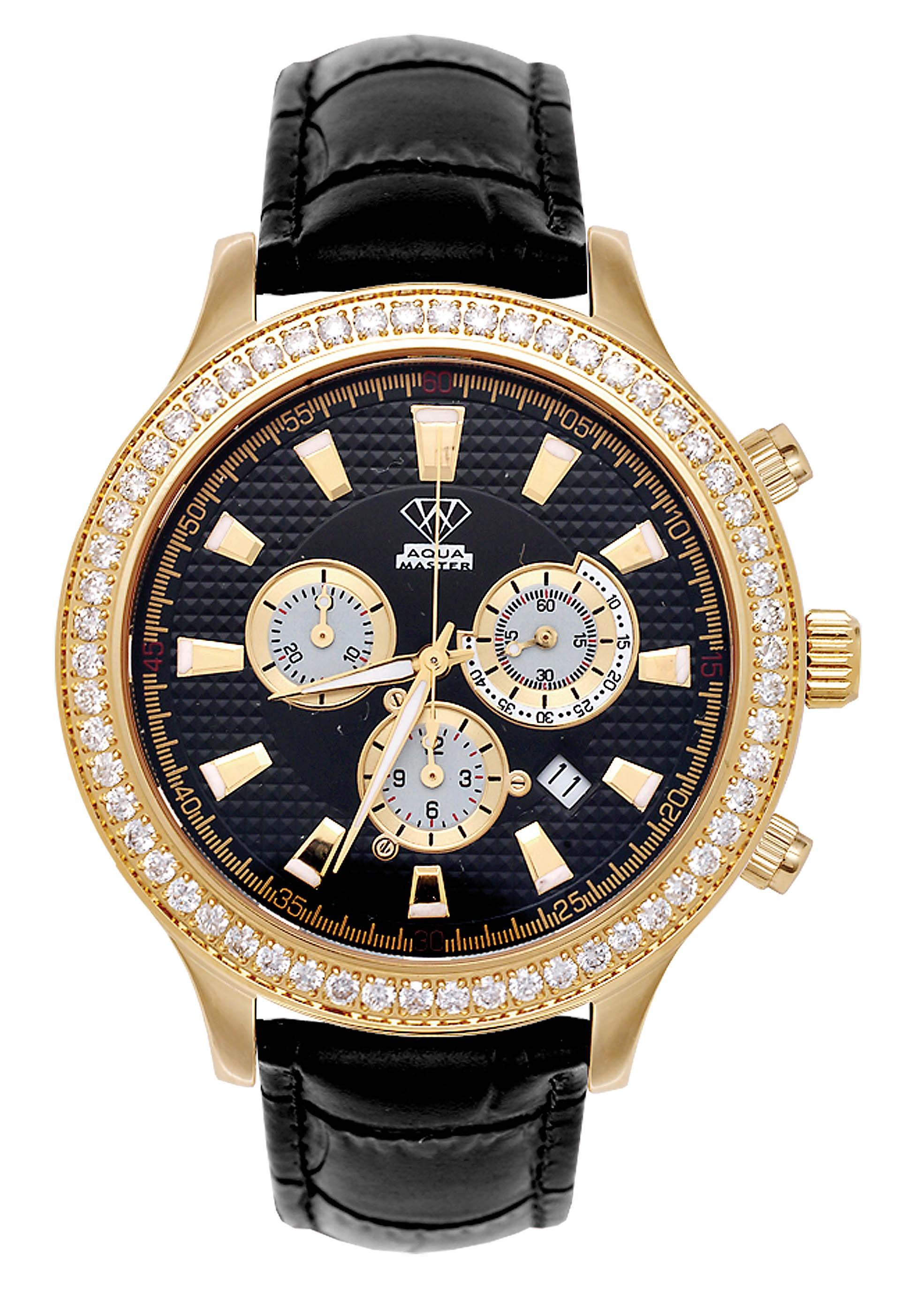 Aqua master watch ltd new watch with sapphire glass for Aqua marine watches